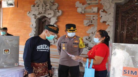 Simulasi, Polres Badung Siapkan 450 Personel Amankan Pilkada