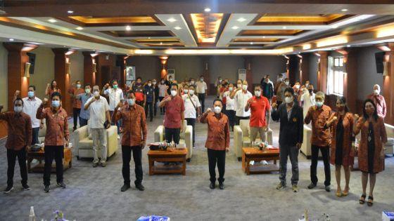 Absen Musorkot, Gus Toni Justru Kembali Pimpin KONI Denpasar