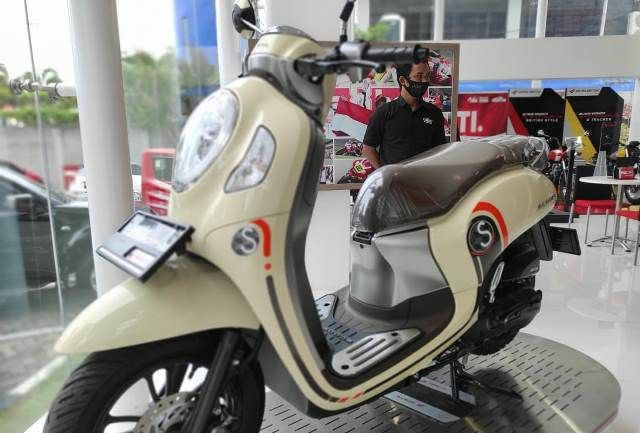 All New Honda Scoopy Skutik Unik dan Fashionable