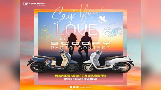 Scoopy Photo Contest, Cara Honda Meriahkan Hari Kasih Sayang