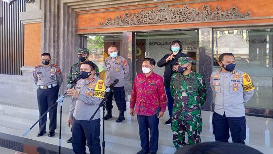 Ribuan Personel Polda Bali Amankan 7 Pos Penyekatan Mudik