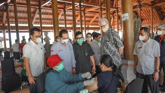 Percepat Pemulihan Pariwisata Bali, ITDC Kembali Gelar Vaksinasi Covid