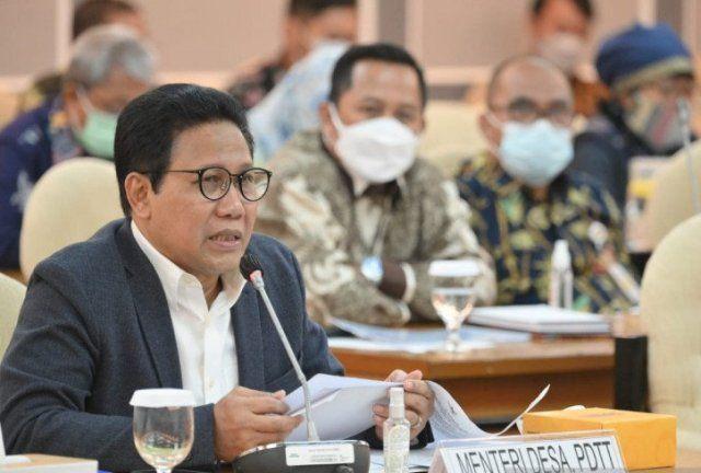 Mendes PDTT Usul Dana Otsus Papua untuk Pembangunan Kampung