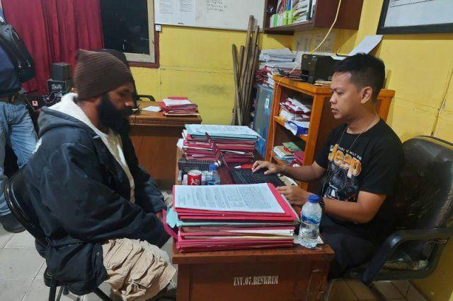 Ketua Organisasi Papua Merdeka di Merauke Ditangkap karena Sebar Hoaks