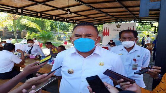 Bupati Jembrana Tegaskan Lagi Pentingnya Vaksinasi dan Disiplin Prokes