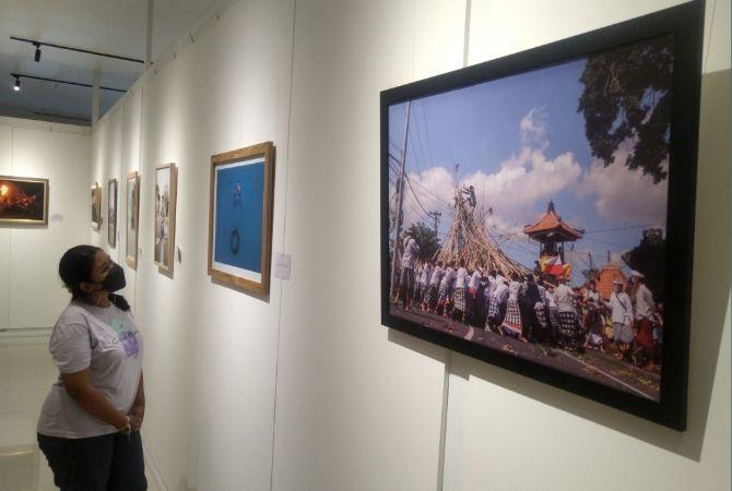 Bali Photo Week 2021 Pajang 40 Foto Karya Mahasiswa ISI Denpasar