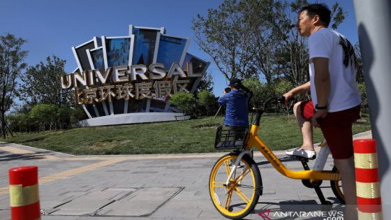 Hanya Sejam, Tiket Pembukaan Universal Studios Beijing Ludes