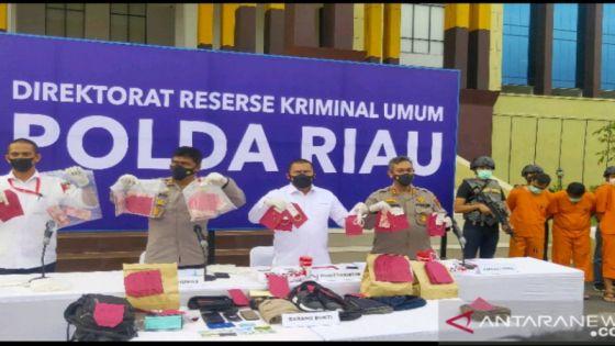 Polisi Bekuk Rampok Rp 775 Juta Uang ATM BRI