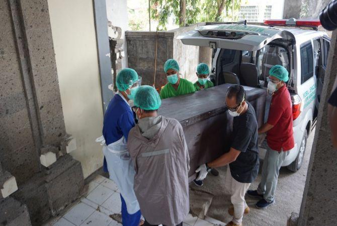 25 Jenazah Terlantar di Kremasi RSUP Sanglah