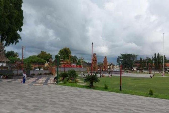 Alun-alun Kota Gianyar Mulai Dibuka untuk Umum, CFD Masih Off