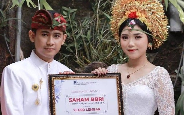 Alit Prajatama Hadiahi Istri Mahar Pernikahan Saham 25 Ribu Lembar