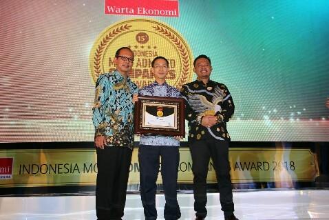 GarudaFood Kembali Raih Penghargaan 'Indonesia Most Admired Company'