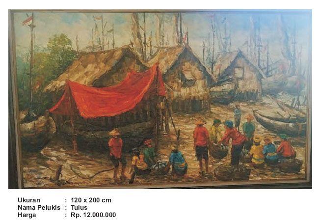 Lelang Lukisan Untuk Warga Terdampak Korona3