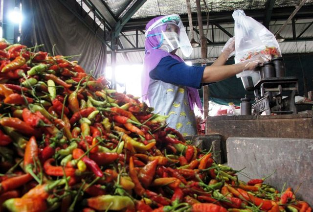 PIOS Jadi Pasar Tangguh Hadapi Pandemi Covid-19