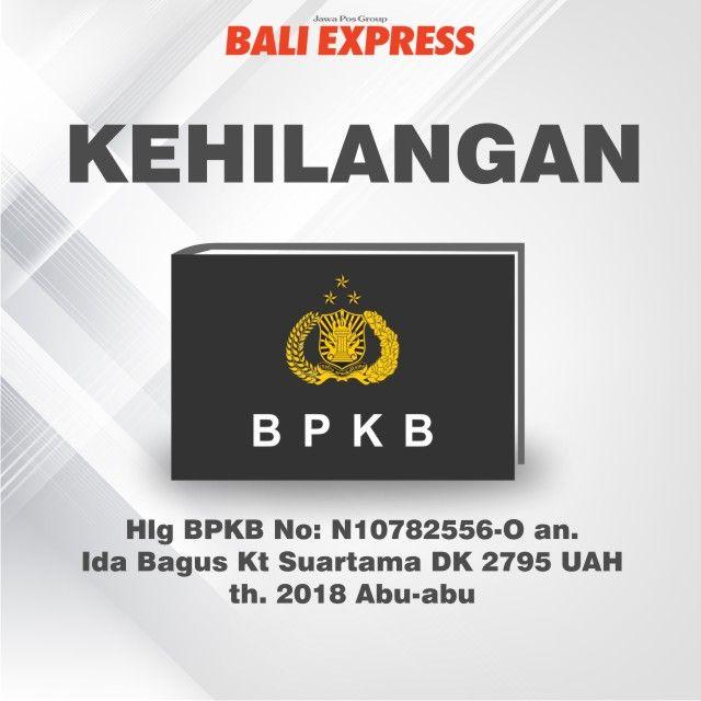 Kehilangan BPKB Daerah Singaraja