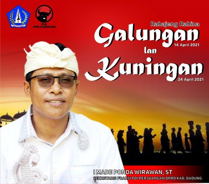Sekretaris Fraksi PDI Perjuangan DPRD Kabupaten Badung