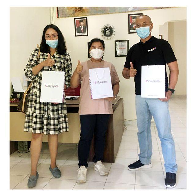 Kunjungan dari MyRepublic Indonesia