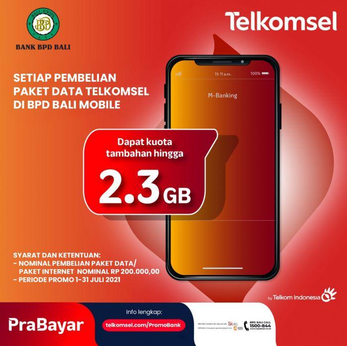 Bank BPD Bali X Telkomsel