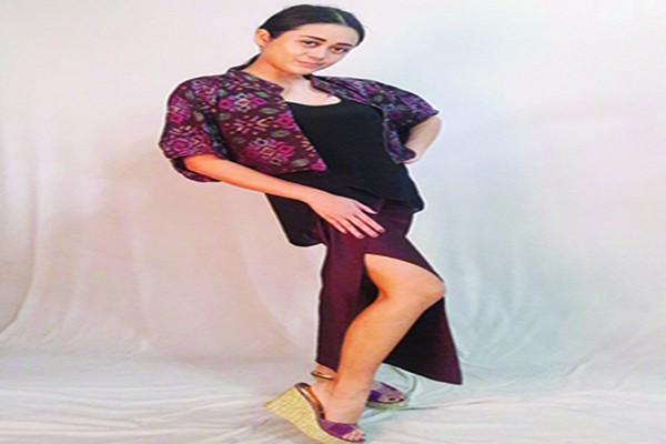 kain endek, fashion designer