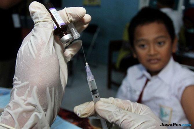 imunisasi mr, diskes klungkung, cakupan imunisasi