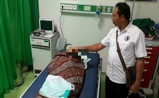 nenek tewas, tewas tertabrak vespa, RS Sanjiwani, Cari Jepun Tewas, Dinas Kesehatan Bali,