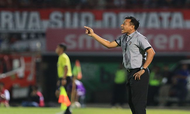 bali united, liga 1, afc cup, coach widodo