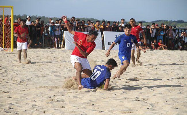 aff beach soccer, timnas indonesia, timnas malaysia, juara III