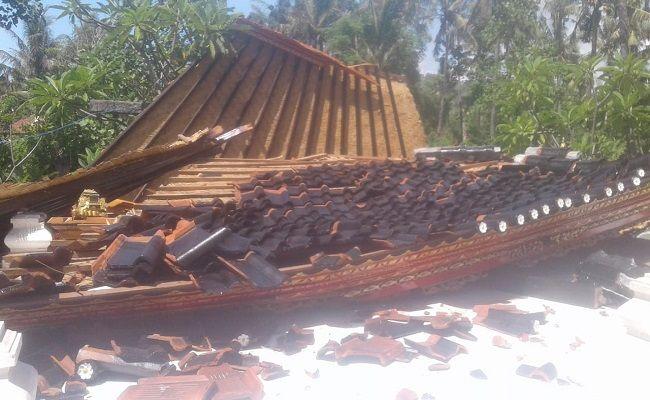 gempa bumi, Gempa lombok, Gempa Bali, Bangunan roboh,