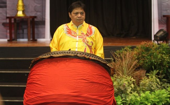 kejuaraan Wushu, atlet Wushu, PB WI, Airlangga Hartarto, Kejuaraan Wushu Internasional, Bali,
