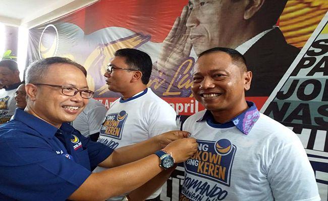 pemilu 2019, nasdem bali, oka gunastawa, ogoh-ogoh, hari raya nyepi