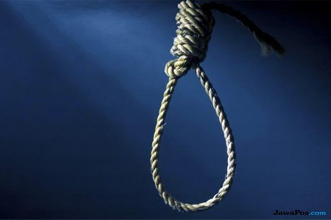 depresi berat, duda dua anak, tewas bunuh diri, polsek tampaksiring