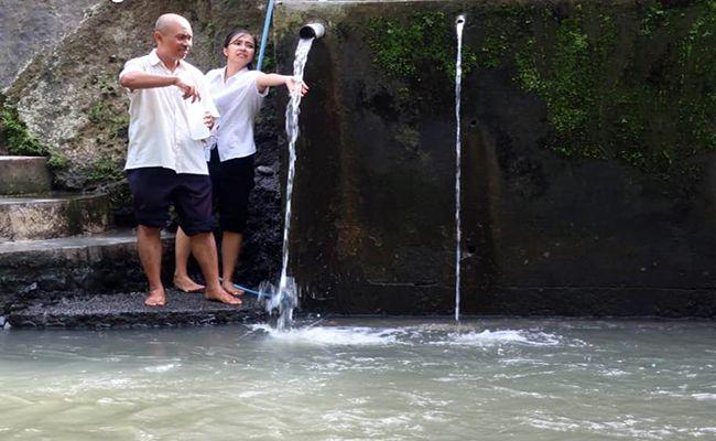 mutu air, kualitas air, harus dimasak, dlh gianyar