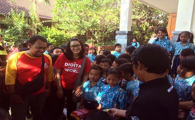 provider indosat, goes to school, amazing juara 1, sdn 6 tuban