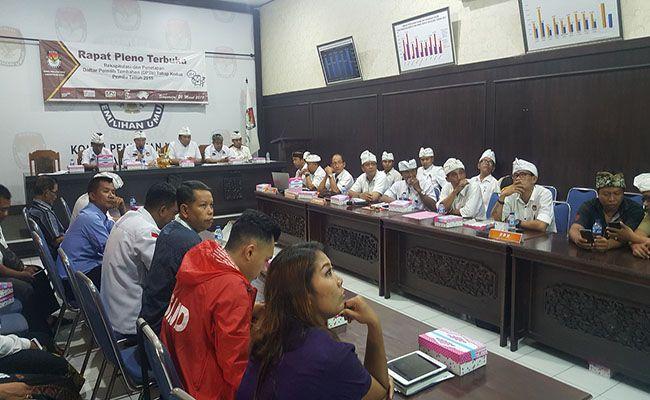 pemilu 2019, rapat rekapitulasi, kpu buleleng