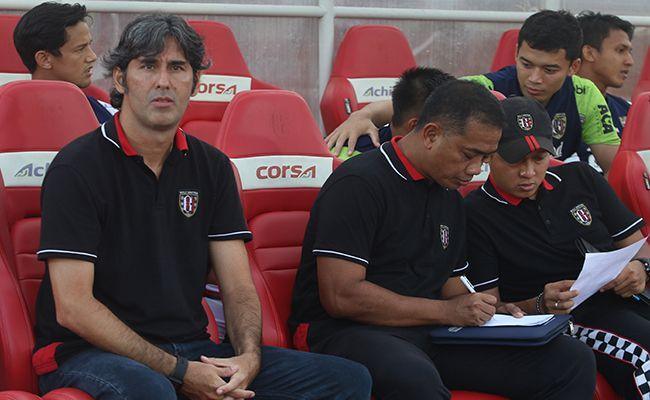 bali united, laga ujicoba, coach teco, skuad inti