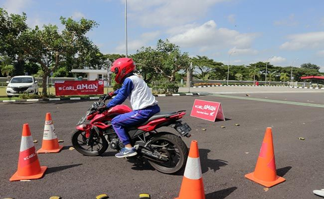 astra motor bali, low speed section, safety riding community