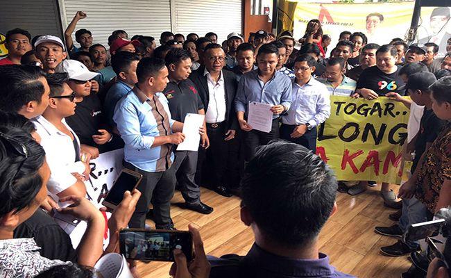 driver online, gantungkan nasib, panglima hukum, togar situmorang, caleg dprd bali, pemilu 2019