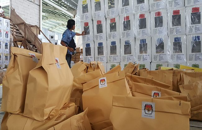 pemilu 2019, distribusi logistik, bawaslu buleleng, kpu buleleng