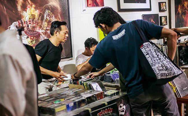 toko kaset, penggemar musik, record store day