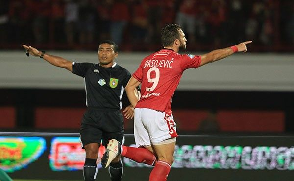 bali united, liga 1, bhayangkara fc, iiija spasojevic
