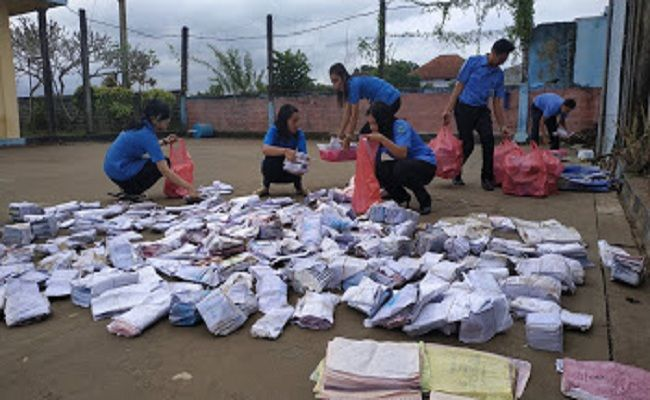 banjir bandang, jalur mudik lumpuh, Pemkab Jembrana, BPBD Jembrana, TNI/Polri, hujan lebat, Arsip PDAM rusak, PDAM Jembrana,