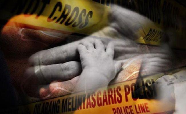 ibu muda, lahirkan bayi, bayi laki-laki, wanita muda, bunuh bayi, polsek kuta