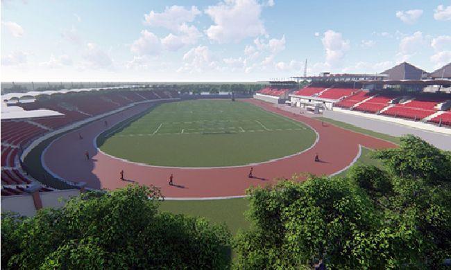stadion mengwi, single seat, fasilitas stadion, dinas pupr badung