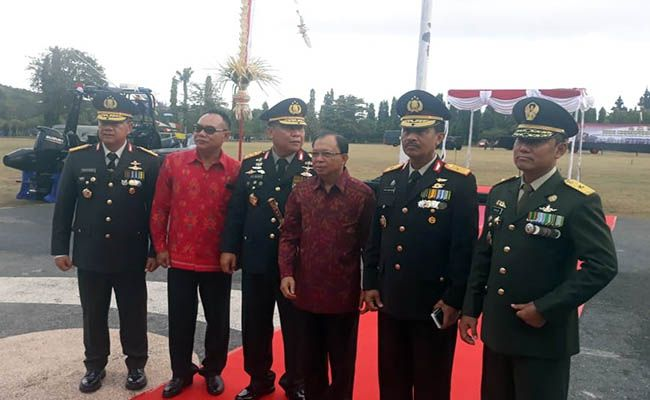 hut bhayangkara, polda bali, dipercaya publik, jenderal petrus