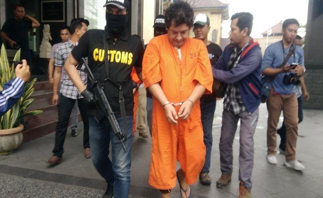 penyelundup kokain, WNA Peru, Bea Cukai, WNA ditangkap, Polda Bali, Kokain sekilo,