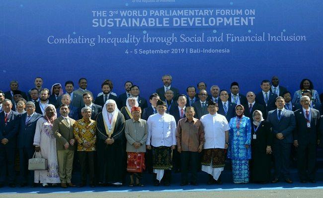 forum parlemen dunia, supadma rudana, bali inspirasi dunia, implementasikan sdgs