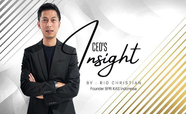ceo insight, rio christian, bpr kas indonesia, generasi millennial, dunia kerja