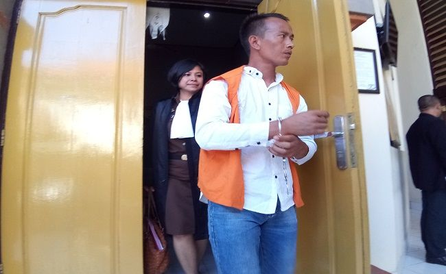 sidang tuntutan, pria nepal, 13 tahun penjara, lapas kerobokan, pn denpasar