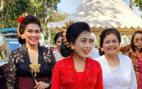 bintang puspayoga, menteri ppa, istri menteri, presiden jokowi, pejabat istri