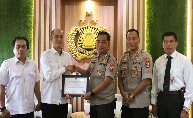 pemilu 2019, pemilu aman, polresta denpasar, kpu denpasar, raih penghargaan
